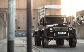 Картинка Mercedes-Benz, Brabus, Gelandewagen, G63 AMG, 6X6, Tuning by