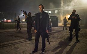 Картинка cinema, gun, weapon, man, mafia, movie, sniper, evil, film, rifle, FN Scar, MP5, Skorpion, The …