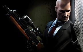 Картинка оружие, засада, Hitman