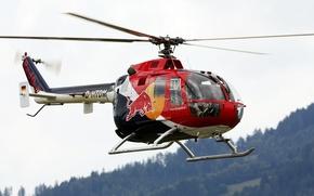 Обои вертолёт, и ударный, MBB Bo 105, многоцелевой