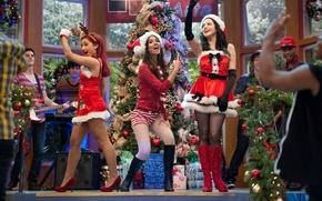 Картинка праздник, рождество, танцы