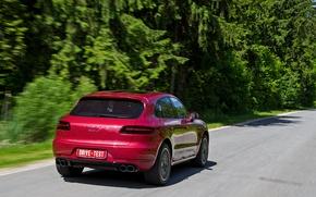 Картинка Porsche, внедорожник, Macan