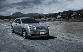 Картинка car, тюнинг, Rolls Royce, Ghost, Vorsteiner, роллс ройс