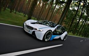 Обои BMW, vision, efficientdynamics