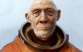 Обои Скафандр, космонавт, 157, планета обезьян