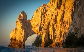 Картинка пляж, океан, скалы, берег, Cabo San Lucas Centro, S. Jose del Cabo