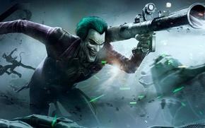 Картинка batman, Joker, injustice