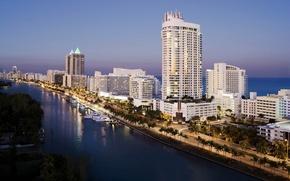 Картинка city, город, Флорида, USA, США, Miami, Florida, Майями