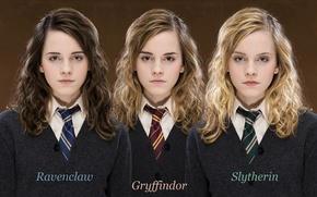 Обои эмма, Hogwarts, ravenclaw, факультеты, slytherin, gryffindor