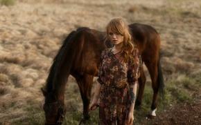 Картинка взгляд, природа, тату, лошадка, Настя, Анастасия Щеглова, Tatiana Mercalova