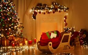 Картинка новый год, рождество, christmas, merry christmas, christmas tree