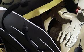 Картинка Overlord, Art, Ainz Ooal Gown