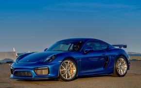Картинка Porsche, Cayman, GT4, HRE, P101
