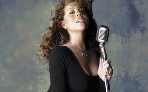 Картинка девушка, Mariah Carey, певица