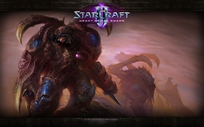 Картинка StarCraft 2, Infested Marine, Зараженный марин, Heart of the swarm