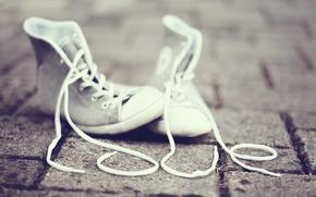 Картинка любовь, улица, пол, шнурок, love, street, floor, shoe, обуви, shoelace