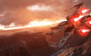 Картинка игры, Electronic Arts, DICE, X-Wing, Повстанцы, Rebels, TIE-Fighter, star wars battlefront