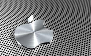 Обои Apple, Яблоко, Эпл, Алюминий