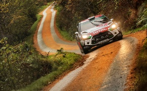 Картинка Citroen, DS3, WRC, Rally, Wales, Kris Meeke