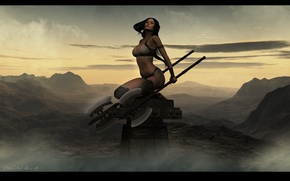 Картинка девушка, воин, топор, Eternal Worrior