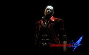 Картинка обои, игра, тень, Данте, Devil May Cry 4