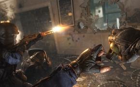 Картинка граната, бой, выстрелы, спецназ, Rainbow six: Siege