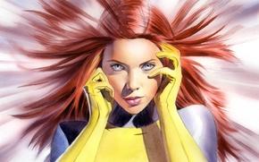 Картинка Marvel, Феникс, Джин Грей, Jean Grey, X-men