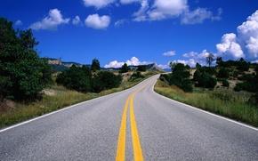 Картинка дорога, небо, облака, 149