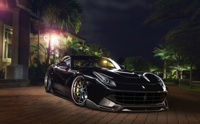Картинка Ferrari, Front, Berlinetta, F12, Wheels, Exhaust, Capristo, Boutique, ADV.1, Systems, GmbH