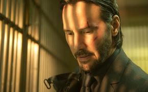 Картинка портрет, Keanu Reeves, John Wick