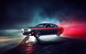 Картинка Dodge, Challenger, muscle car, R/T