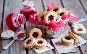Обои печенье, pastry, biscuits, еда, пирожные