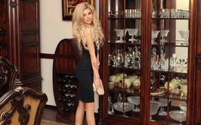 Картинка девушка, модель, блондинка, ножки, Vladislava Radchenko