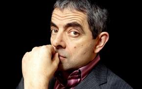 Картинка face, Rowan Atkinson, hand