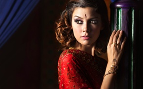 Картинка украшения, портрет, макияж, Ivan Lee, The Beauty of Arabian
