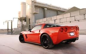 Обои корветт, шевроле, Z06, Corvette, Chevrolet, Hennessey, 2011