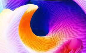 Картинка краски, Apple, color, abstraction, Macbook Pro Retina, 2016, macOS