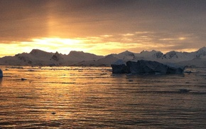 Картинка лед, природа, антарктика