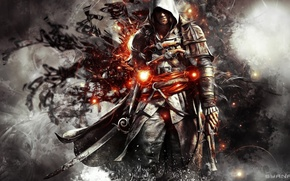 Картинка artwork, Edward Kenway, Assassin's creed
