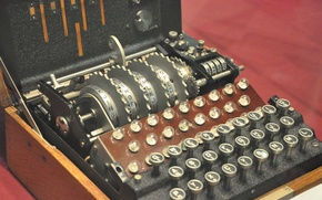 Картинка машина, военная, немецкая, Энигма, шифровальная, военно-морская, четырехроторная