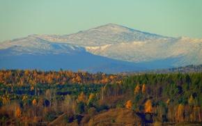 Картинка горы, природа, разрез