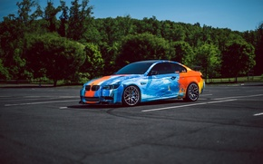 Обои bmw, e92, m3, car, tuning