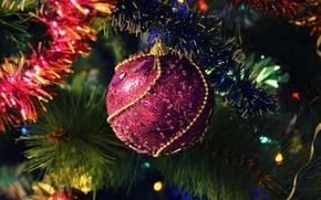 Картинка праздник, игрушка, елка, год, новый