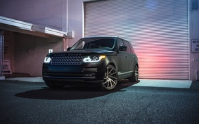 Обои Collection, Front, Land Rover, Range Rover, Aristo, Sport