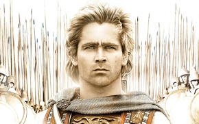 Обои Colin Farrell, Alexander The Great, General, Alexander of Macedonia, The Great, Alexander, Leader