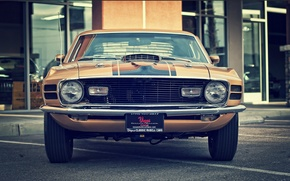 Картинка mustang, ford, vintage, 1970, classic, mach 1