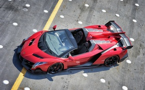 Картинка Roadster, Lamborghini, родстер, ламборгини, Veneno, венено