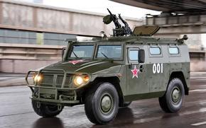 Обои ГАЗ-233014 Тигр, армейский вариант, бронеавтомобиль
