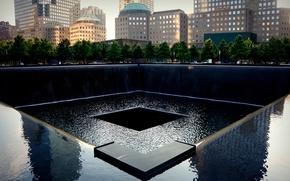 Картинка память, Нью-Йорк, США, музей, 11 сентября, Национальный мемориал, National September 11 Memorial