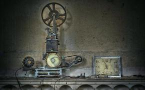 Картинка фон, часы, апарат
